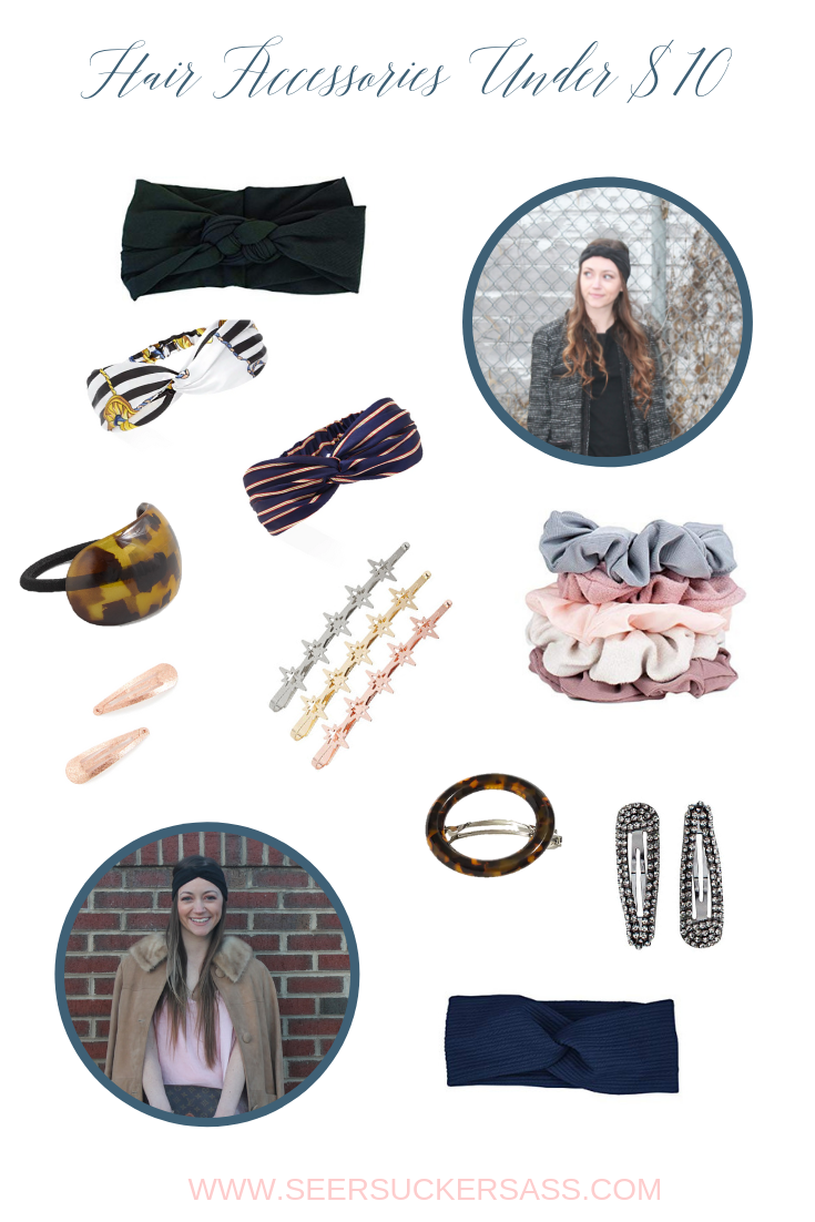 My Newest Obsession:  Hair Accessories Under $10